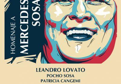 homenaje a Mercedes Sosa