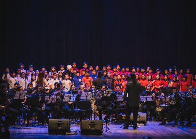"""La """"Banda Blas Blotta"""" festejó sus 116 años en el Teatro Independencia"""