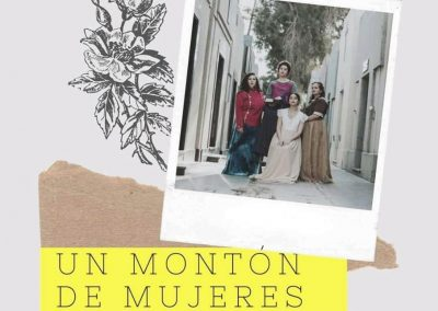 """Estreno de la obra teatral """"Un Montón de Mujeres"""""""