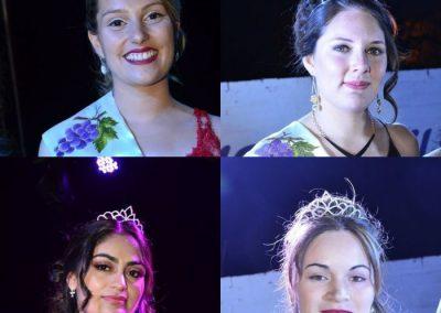 Este fin de semana se coronaron cuatro reinas distritales