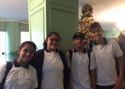 Atleta rivadaviense en los Juegos Sudamericanos Escolares