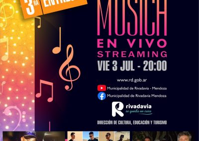 Ciclo de Música en vivo por Streaming