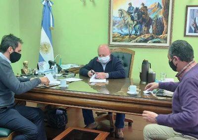 Se firmó convenio entre el Municipio y Aysam