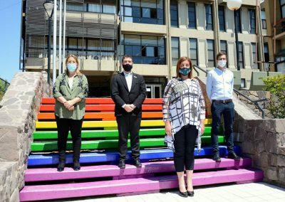 La Comuna se pintó con los colores de la diversidad
