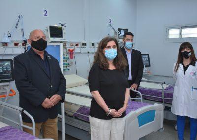 Nueva sala de cuidados intensivos fue inaugurada en el Hospital Carlos Saporiti