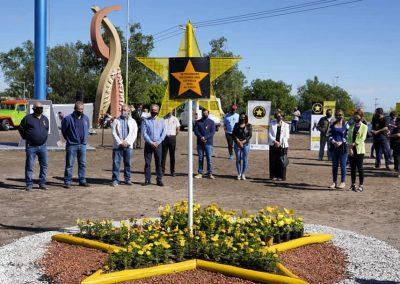Rivadavia y Junín realizaron un homenaje a víctimas de accidentes de tránsito