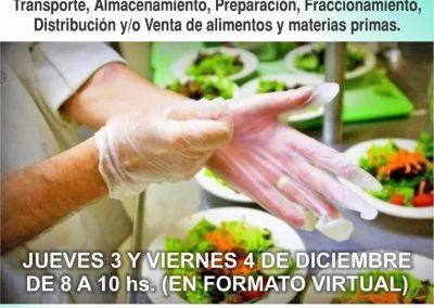 Curso de manipulación higiénica de los alimentos