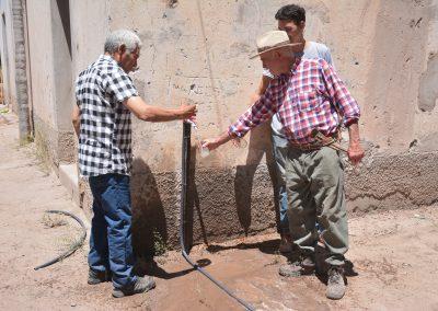 Nueva red de agua en Rivadavia