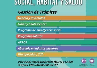 Gestión de trámites Desarrollo Social