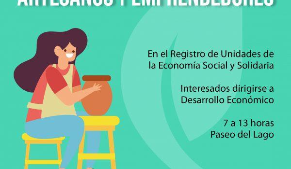 REGISTRO ARTESANOS Y EMPRENDEDORES
