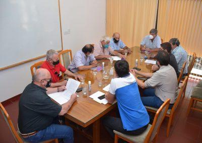 Rivadavia firmó convenio para el tratamiento de líquidos cloacales