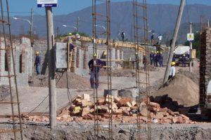 casas en construcción