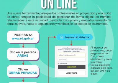 Rivadavia cuenta con el sistema online para la gestión de Obras Privadas
