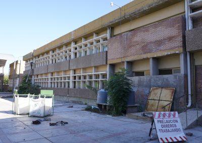 Avanzan las obras en las escuelas Francisco.H. Tolosa, Bernardino Rivadavia y Tittarelli