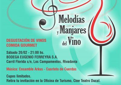 Melodías y Manjares del Vino