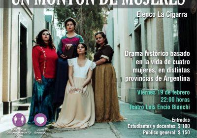 """Obra Teatral """"Un Montón de Mujeres"""""""