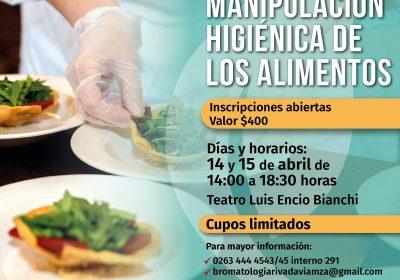 Curso manipulación de alimentos