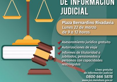 Centro Móvil de Información Judicial