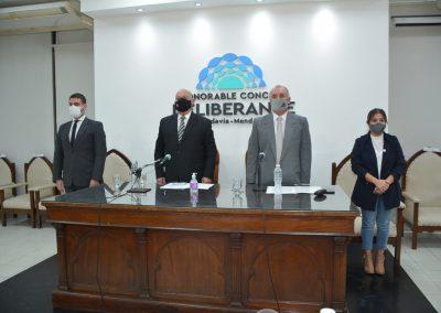 Ronco inauguró el período de Sesiones Ordinarias del Concejo Deliberante