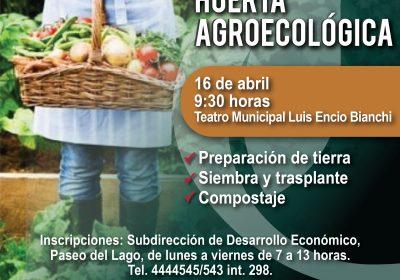 Capacitación sobre huerta agroecológica