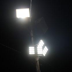 Inauguración luminarias CDR