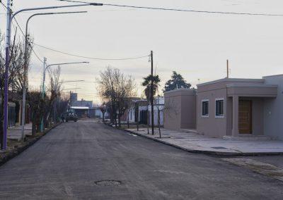 Más de 400 calles pavimentadas en el departamento