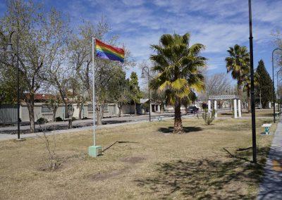 Paseo de la Diversidad en el Boulevard Sargento Cabral