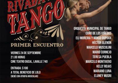 Rivadavia realiza el 1º encuentro de tango