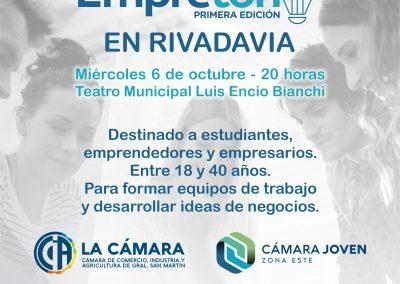 Se presentará el EMPRETÓN 2021 en el Teatro Luis Encio Bianchi