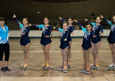 Rivadavienses competirán en el torneo regional de patinaje artístico en San Luis