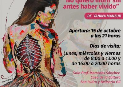 Apertura de una nueva exposición de pinturas en la Casa de la Cultura
