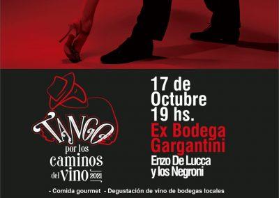 Se presentará en Rivadavia Tango por los Caminos del Vino
