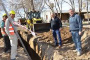 2017 – Iniciando obras de  cloacas en El Mirador